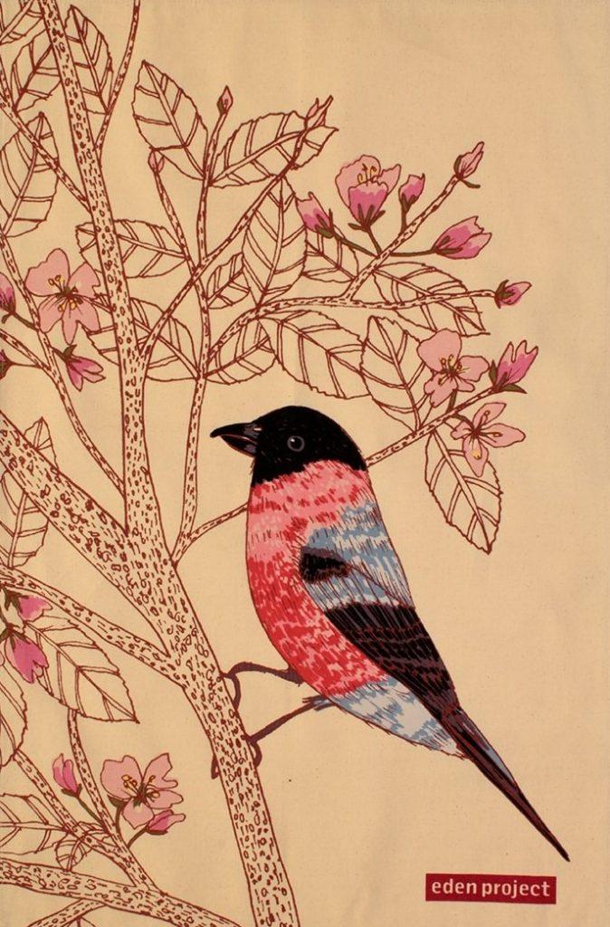 Linen Kitchen Towels Ulster Weavers Birds