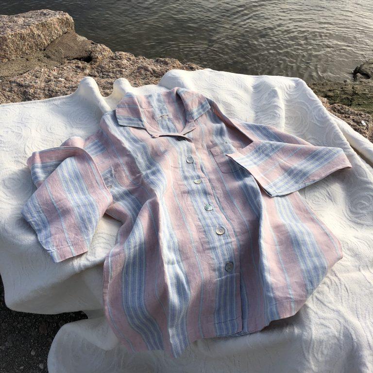 Luxury Linen Pajamas Susanna Davis England