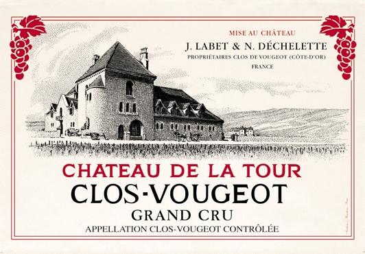 French Wine Label towels Clos Vougeout Kitchen towel