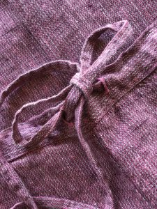 linen pajamas raspberry