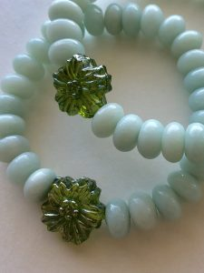 blue amazonite bracelet Peace Within