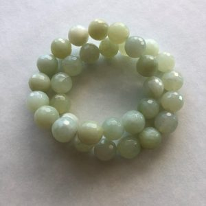 Light green beads bracelet Peace Within