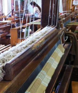 Traditional Hand Weaving Loom Lithuania