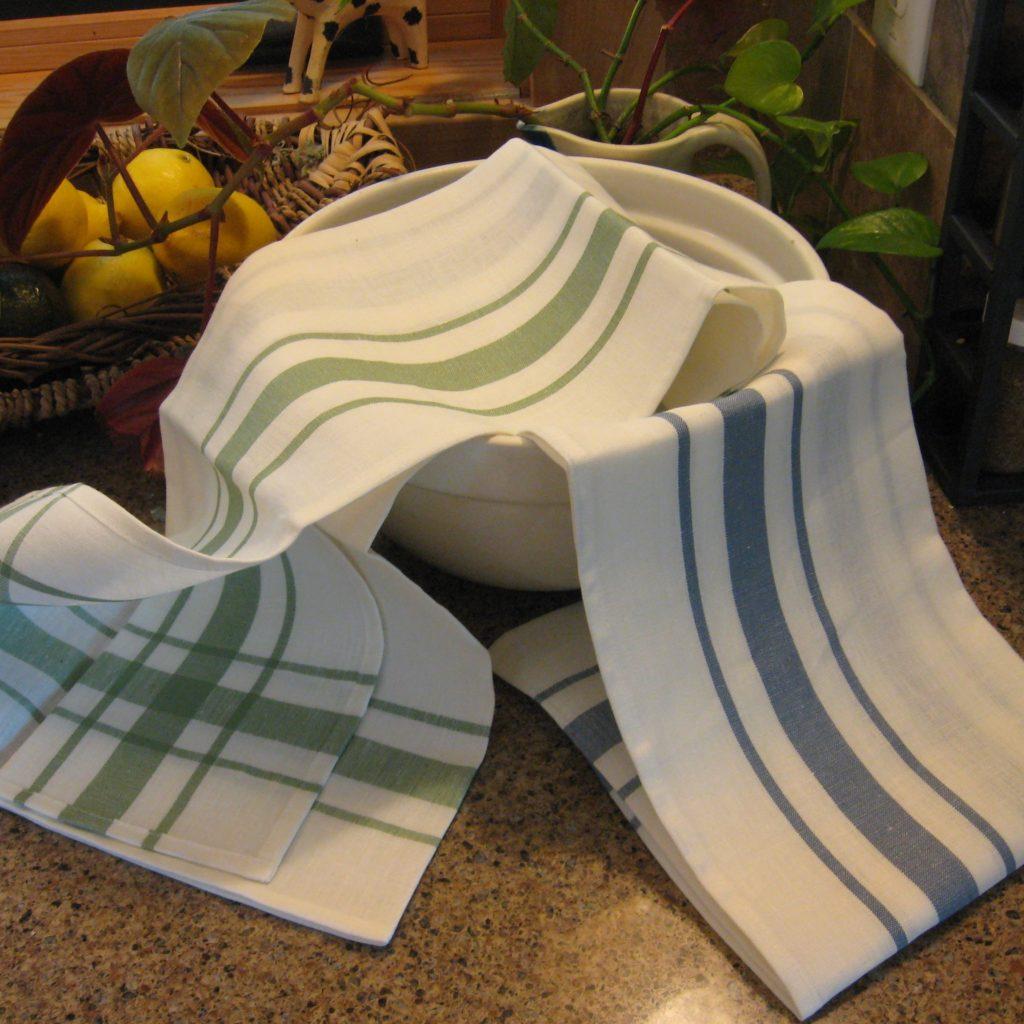 Libeco Belgian Linen Kitchen Towel Camaret