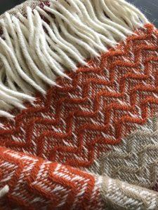 Tweedmill wool throw blanket