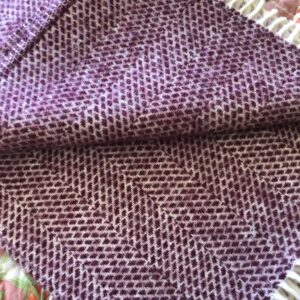 Tweedmill wool throws Wales