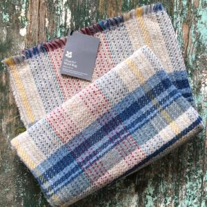 Tweedmill recycled wool throw
