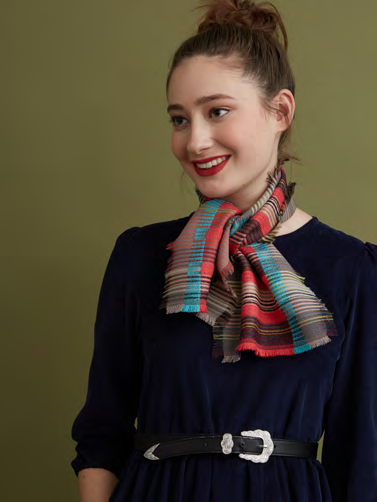 Wallace Sewell Wool Cashmere Scarf Tippet