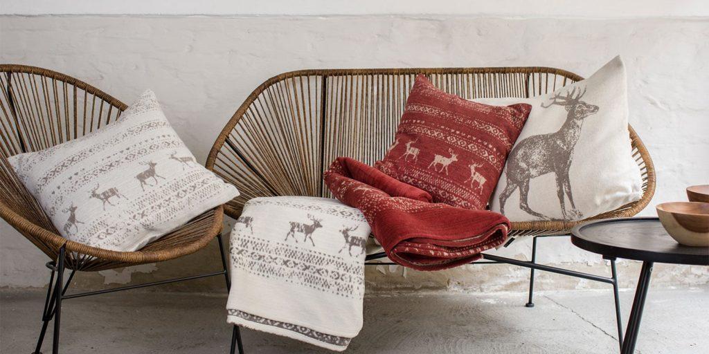 David Fussenegger Cotton Throws Blankets Austria Deer