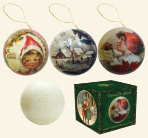Victorian Christmas Baubles English Soap Companhy