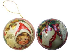Victorian Christmas Bauble English Soap Company