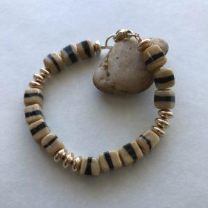 Vintage Bracelet English 40's-50's beads