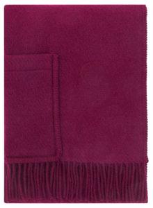 Lapuan Kankurit Finland Wool Pocket Shawl Wine Red