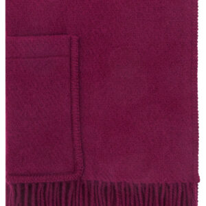 Lapuan Kankurit Finland Wool Pocket Shawl Wine Red