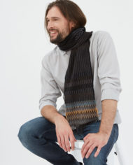 Wallace#Sewell London Men's English Lambswool Scarf