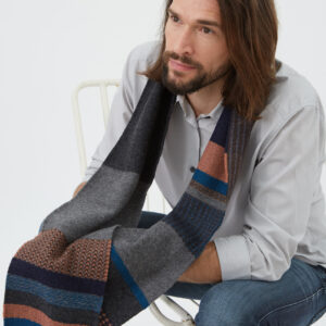 Wallace#Sewell London Lambswool Scarf Marry Me Tonight