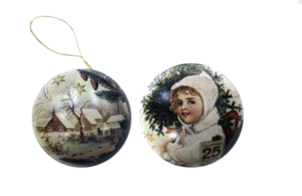 Victorian Christmas Bauble with Soap English Soap