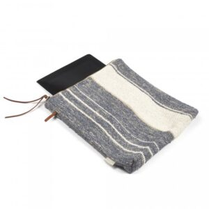 Libeco linen bag purse case pouch belgian linen