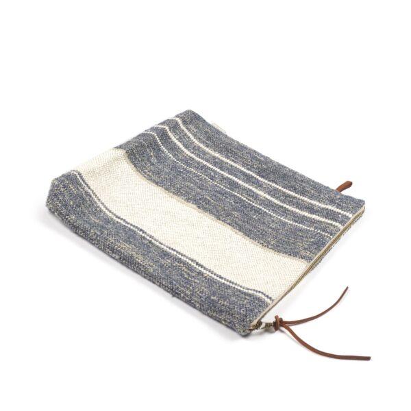 Libeco Belgian Linen Carryall Bastion Blue Stripe