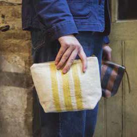 Libeco linen purses pouches bags cases
