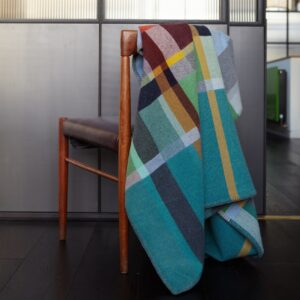 Wallace Sewell Feilden Merino Wool Throw