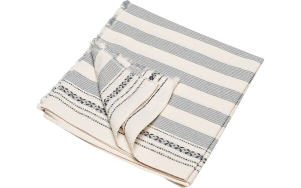 David Fussenegger Beach Bath Towels Cotton Gray