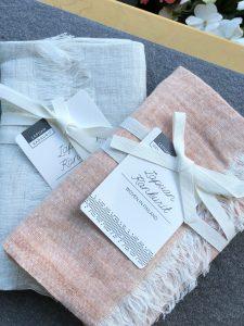 Lapuan Kankurit linen scarf Finland