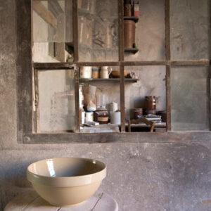 Digoin stoneware bowl France