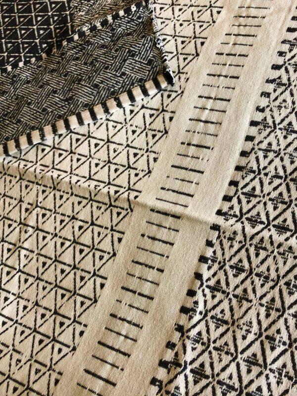 david fussenegger cream charcoal rug austria