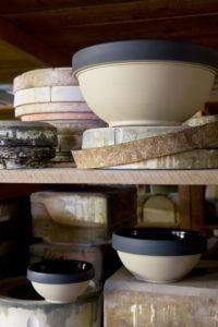 Digoin Stoneware Bowls French Pottery