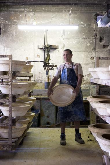 Digoin stoneware bowls France