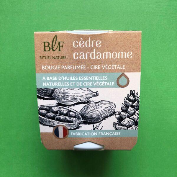 Bougies la Francaise scented candle cedar