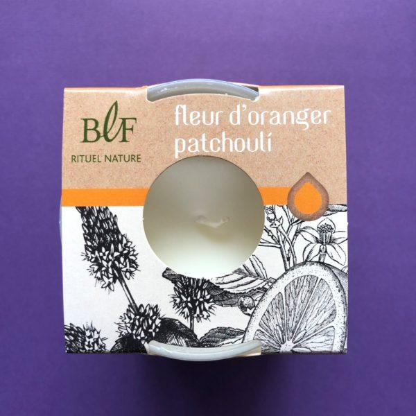 Bougies la Francaise scented candle orange patchouli