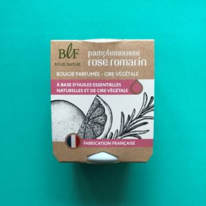Bougies la Francaise scented candle grapefruit