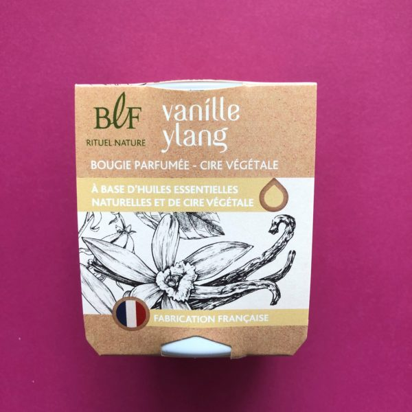 Bougies la Francaise scented candle vanilla