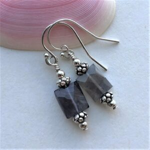 purple amethyst earring Peace Within