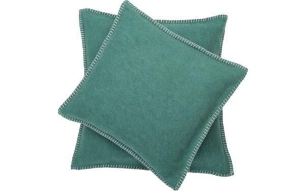 David Fussenegger pillow covers teal