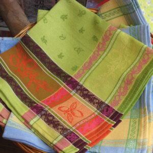 Le Cluny French Provence tablecloth napkin