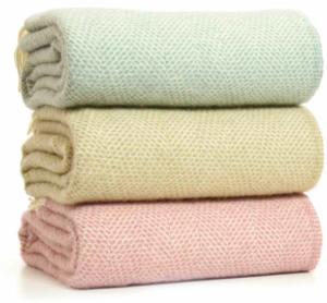 Tweedmill throws wool