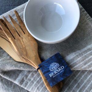 Berard olive wood utensils French