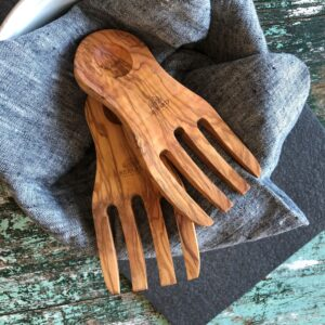 Berard olive wood servers
