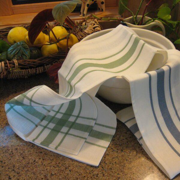 Libeco kitchen towel Camaret Belgian linen