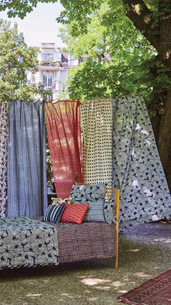 Petit Lucas French cotton curtain panels