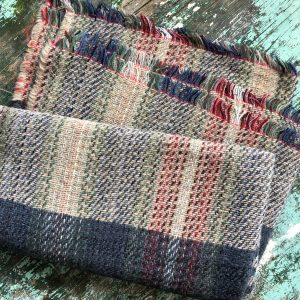 Tweedmill recycled wood throws Wales