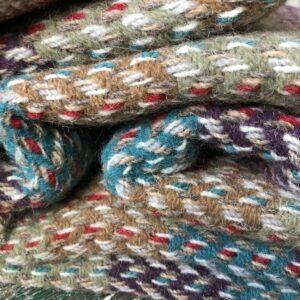 Tweedmill recycled wool throw Wales