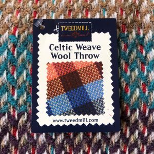 Tweedmill recycled wool throw Wales