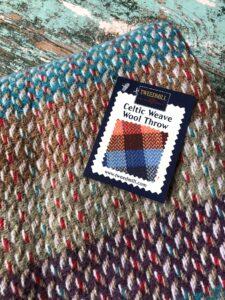 Tweedmill recycled wool throws rugs