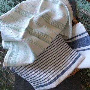 Linen kitchen towels Linen Casa