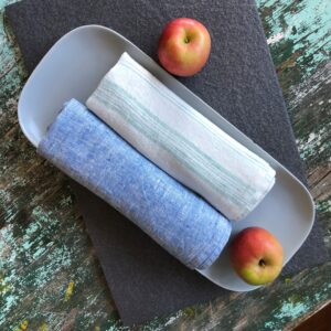 Linen kitchen towels Linen Casa