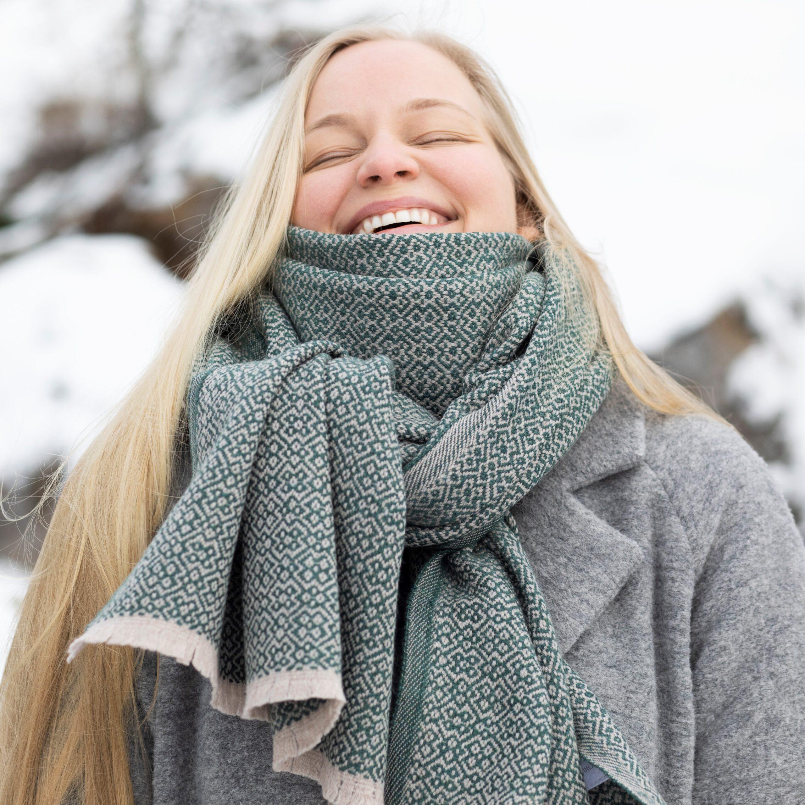 Lapuan Kankurit scarf merino wool Finland